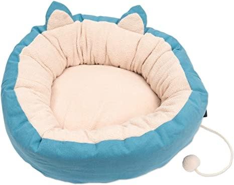 CatIt Vesper Cat Bed, XLarge, Blue-1