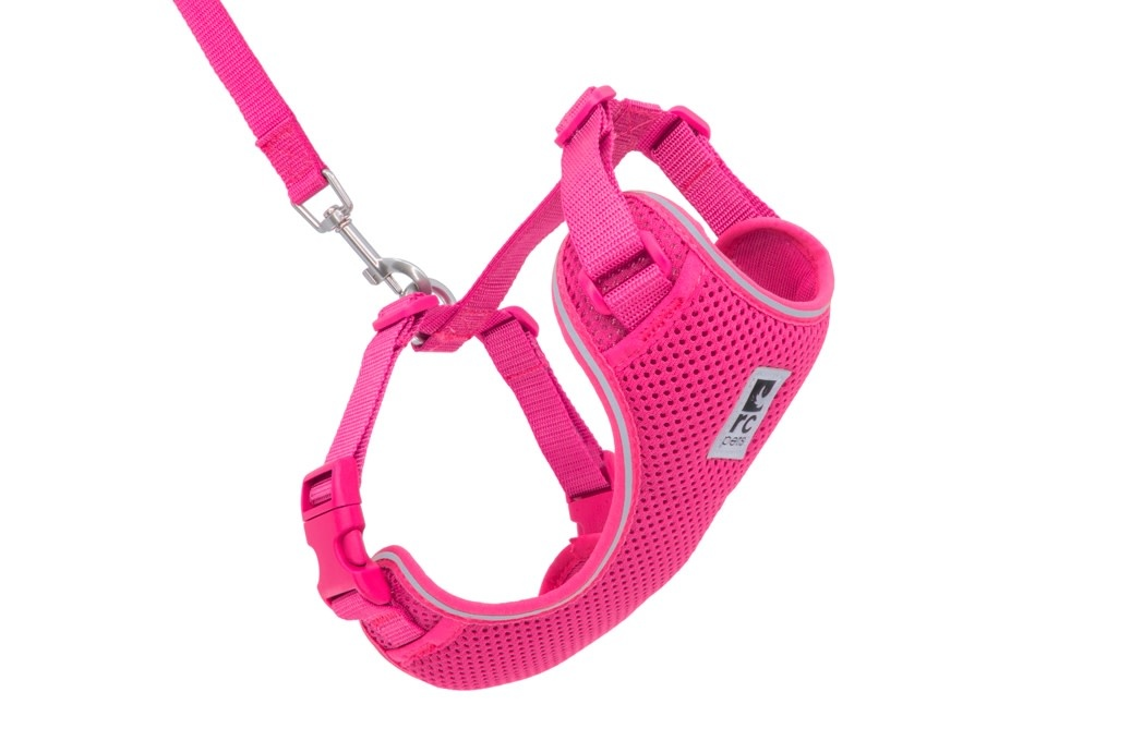 Adventure Kitty Harness Large Raspberry-1