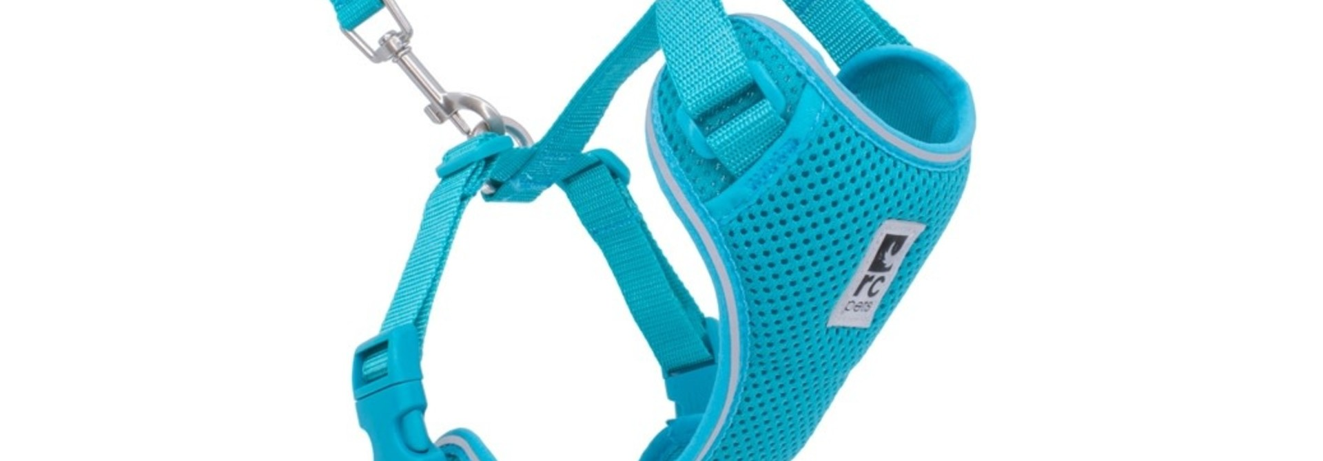 Adventure Kitty Harness Large Teal