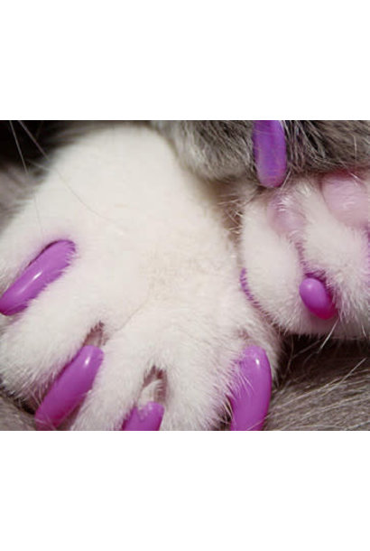 Masked Claws Nail Caps-Large-Purple