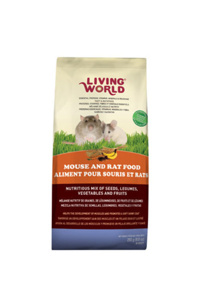 Living World Classic Mouse Food, 250g