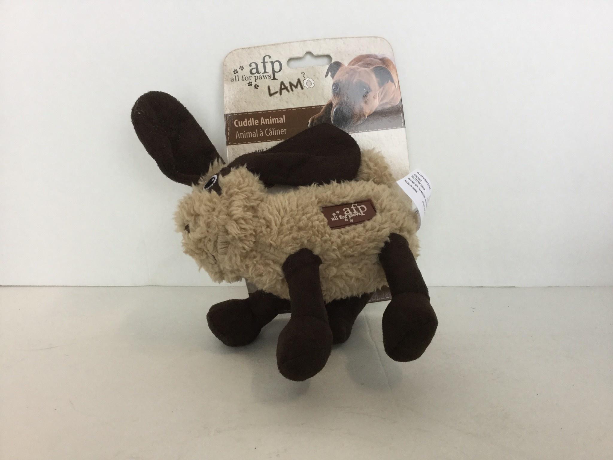 "AFP Lamb Cuddle Animals, 7"", Assorted-1"