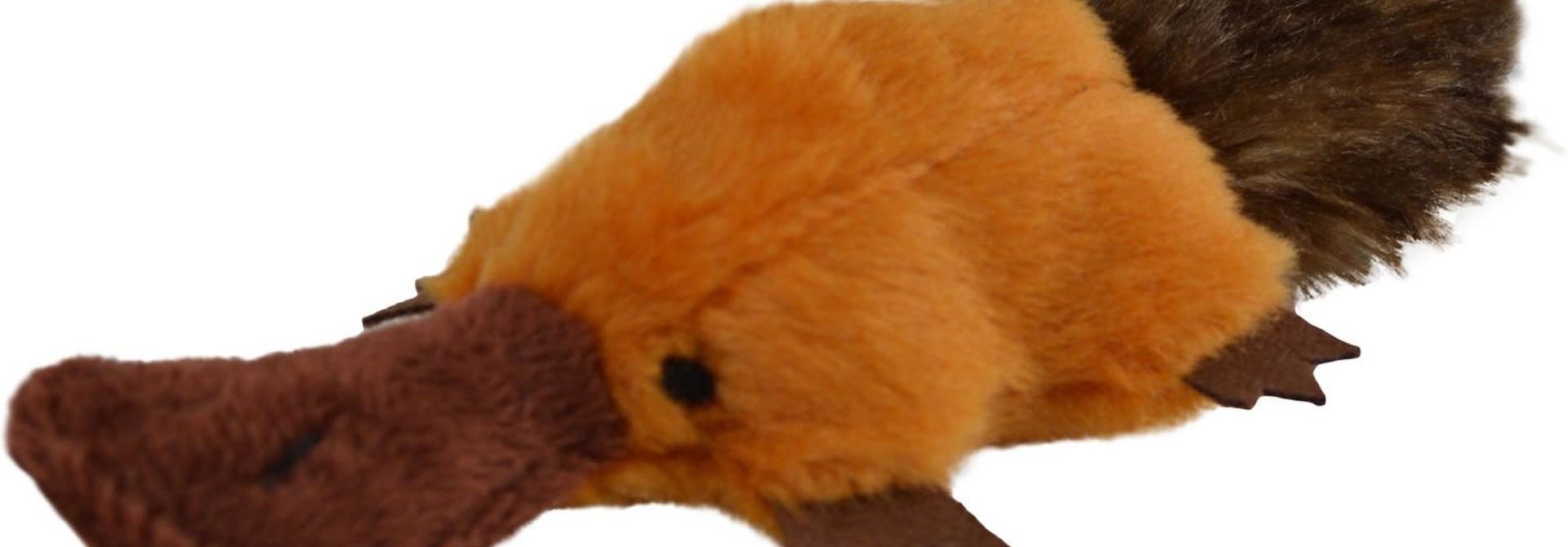 Play N Squeak Plush Platty Pup Catnip