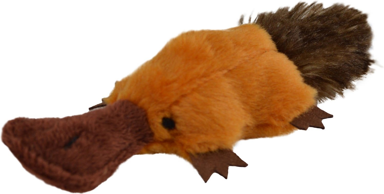 Play N Squeak Plush Platty Pup Catnip-1