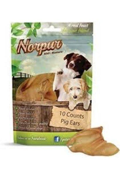 NorPur Pig Ear Strips 250g