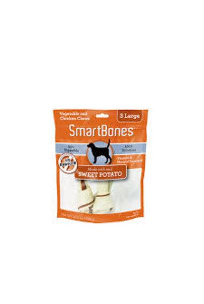 Smartbones Classic Bone Chews Sweet Potato Lrg 3pk