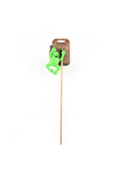 Beco Cat Nip Wond Toy Frog Green