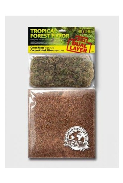 ExoTerra Tropical Forest Floor Substrate 8.8L