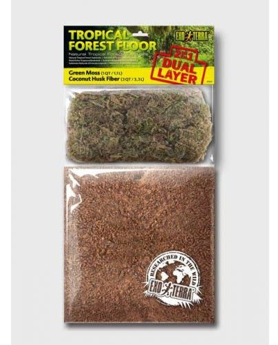 ExoTerra Tropical Forest Floor Substrate 8.8L-1