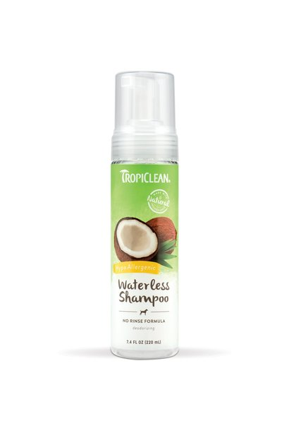 Tropiclean Waterless Shampoo No Rinse Formula