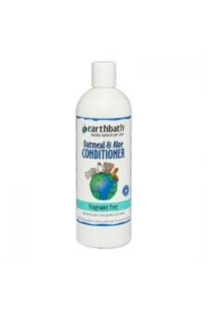 Earth Bath Oatmeal & Aloe Conditioner Fragrance Free 473ml
