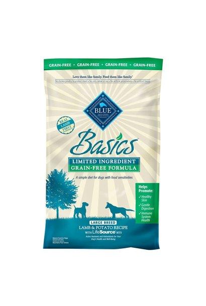 Blue Basics Adult Lamb & Potato LID GF 4 lb