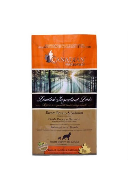 Canadian Naturals Grain Free Salmon & Sweet Potato 5LB