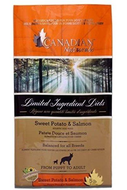 Canadian Naturals Grain Free Salmon & Sweet Potato 25LB