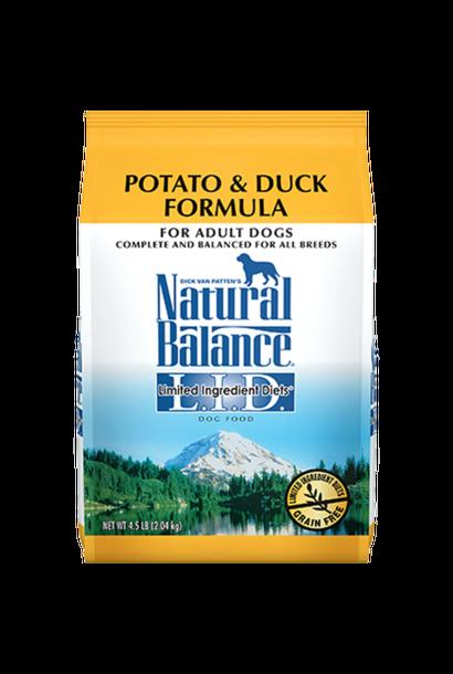 Natural Balance Grain Free Duck & Potato 26LB