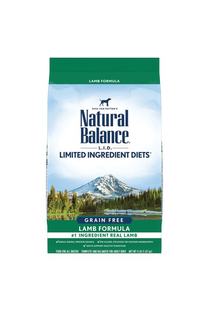 Natural Balance Grain Free Lamb 11.4kg