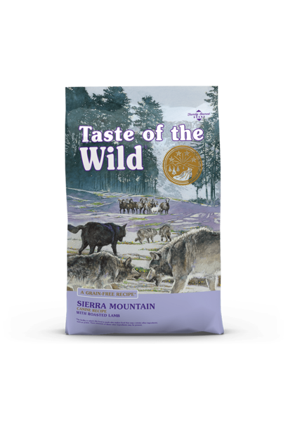 Taste of The Wild/Sierra Mountain/Roasted Lamb - 5lb