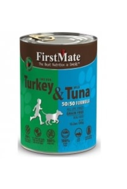 First Mate 50/50 Free Run Turkey/Wild Tuna 5.5oz
