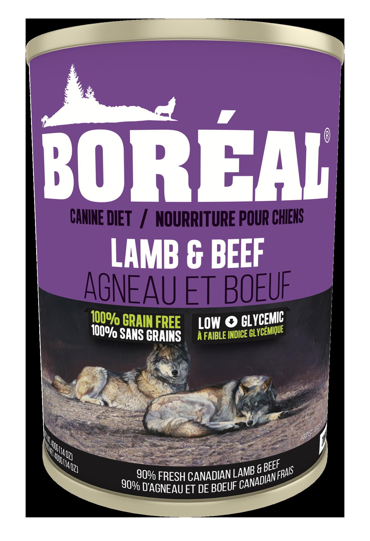Boreal Dog Lamb & Beef Formula 690g-2