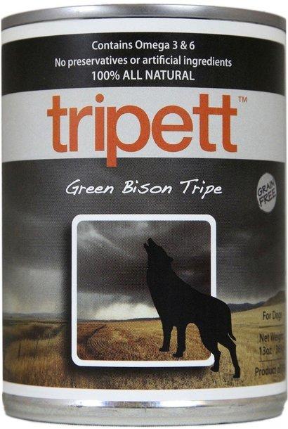Tripett Green Bison Tripe 396g