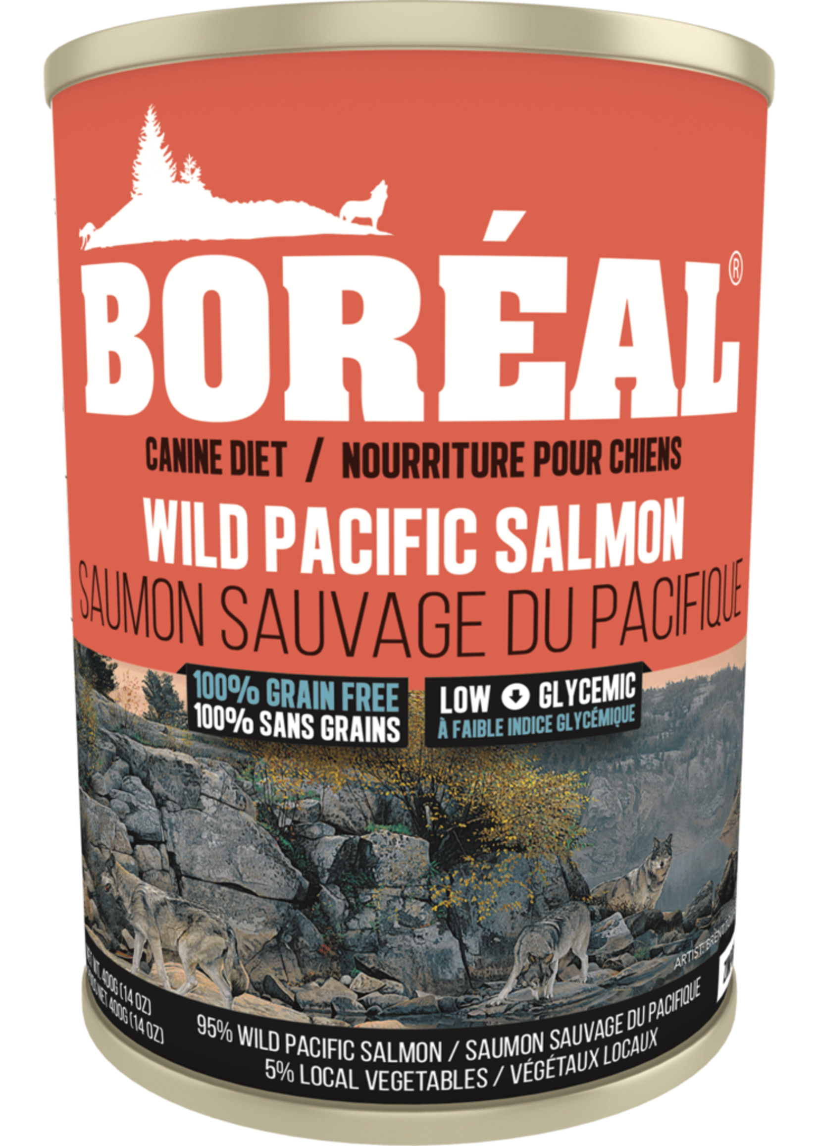 Boreal Boreal Dog Wild Salmon Formula 690g