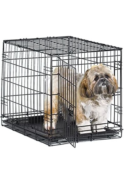 Tuff Crate 300 Black Crate with Divider 40lbs