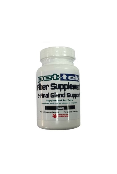 Pet-Tek Fiber Supplement & Anal Gland Support