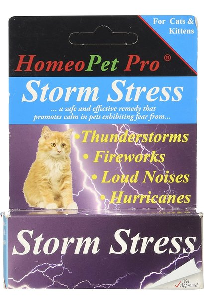 HomeoPet Pro Storm Stress for Cats & Kittens