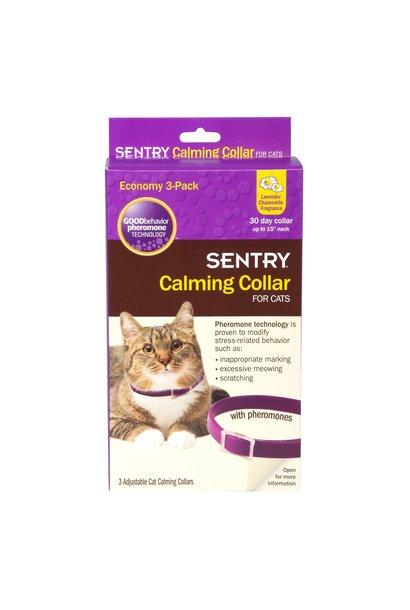 Sentry Calming Collar Cats 3PK