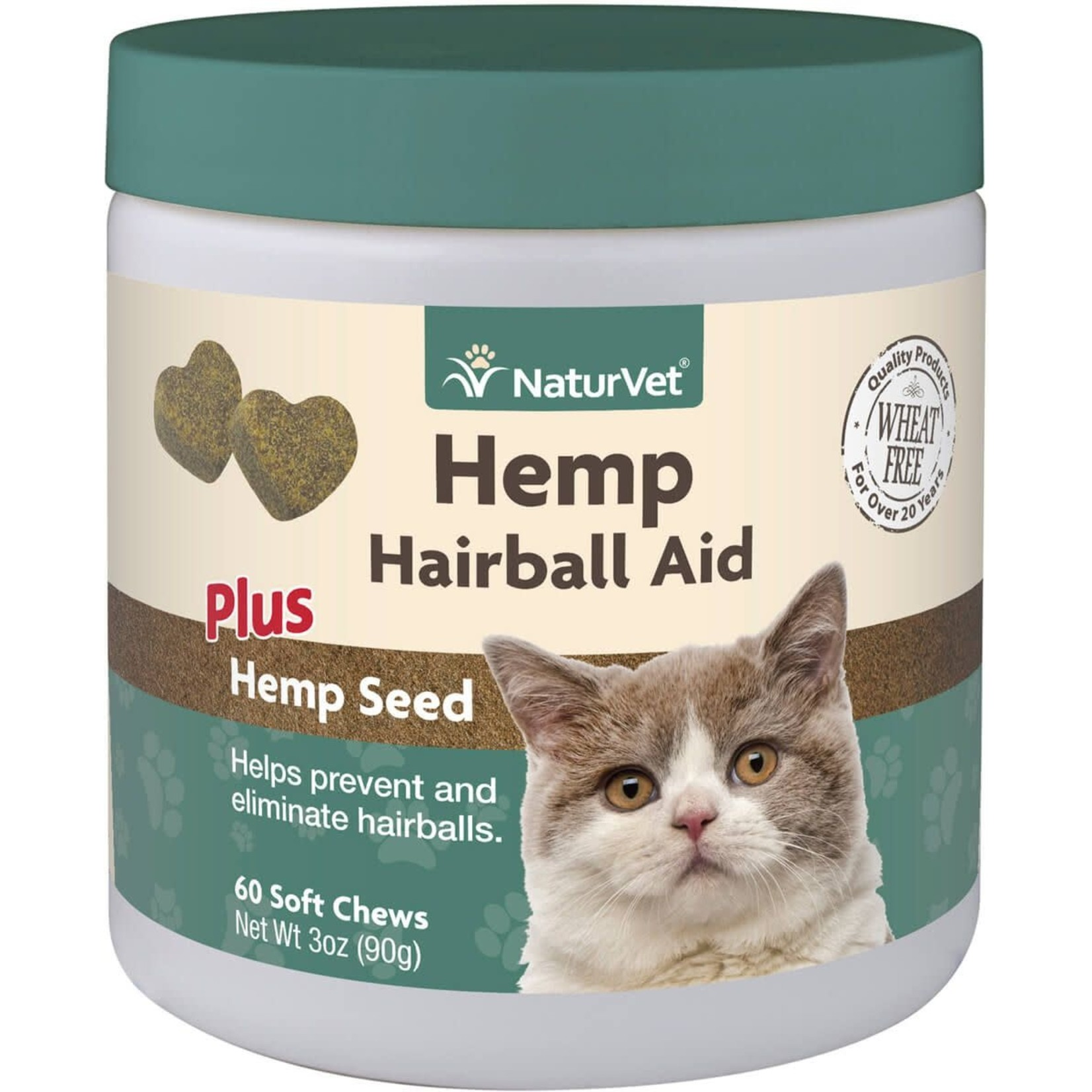 NaturVet Naturvet Soft Chew Hairball Aid 60ct