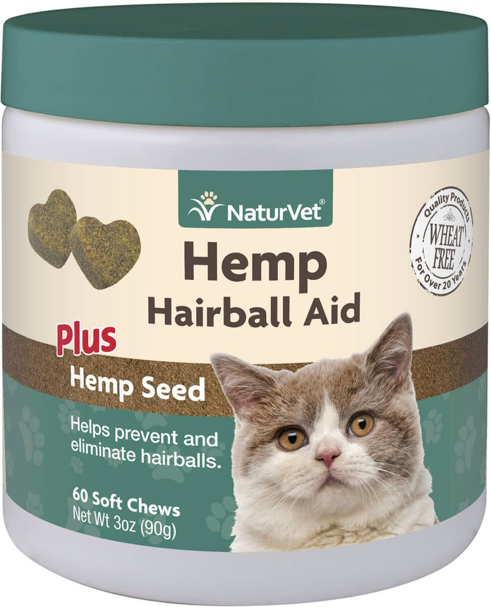 Naturvet Soft Chew Hairball Aid 60ct-1