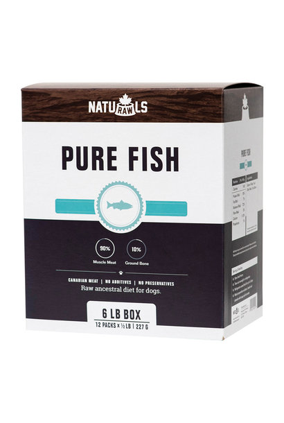 Naturawls Raw Pure Salmon & Trout 12x .5lb