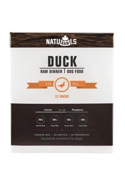 Naturawls Raw Duck & Veggie 12x .5lb