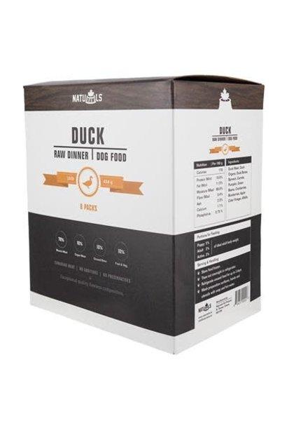 Naturawls Raw Duck & Veggie 8x 1lb