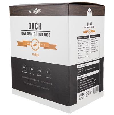 Naturawls Raw Duck & Veggie 8x 1lb-1