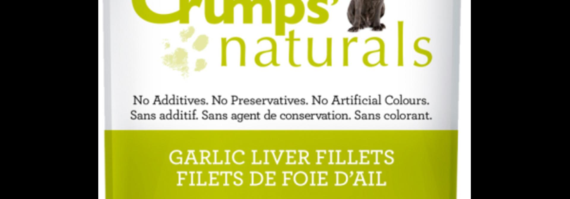 Crumps Garlic Liver Fillets  5.6oz
