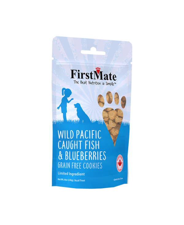 First Mate Fish With Blueberries Biscuits 8oz-1