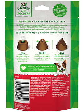 Greenies Pill Pockets Hickory Smoke 3.2OZ Tablet-2