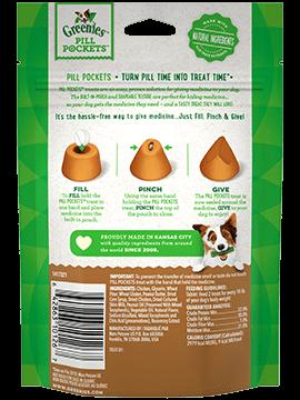 Greenies Pill Pockets Peanut Butter 3.2OZ Tablets-2