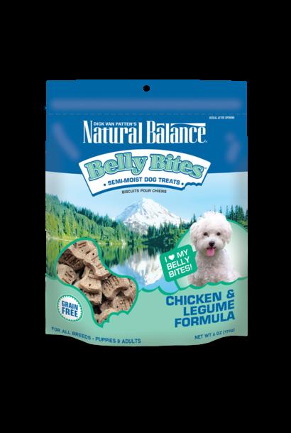 Natural Balance Belly Bites Chicken/Legume 6OZ