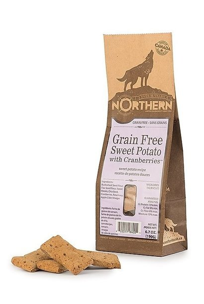 Northern Biscuits Grain Free Sweet Potato With Cranberries 190g