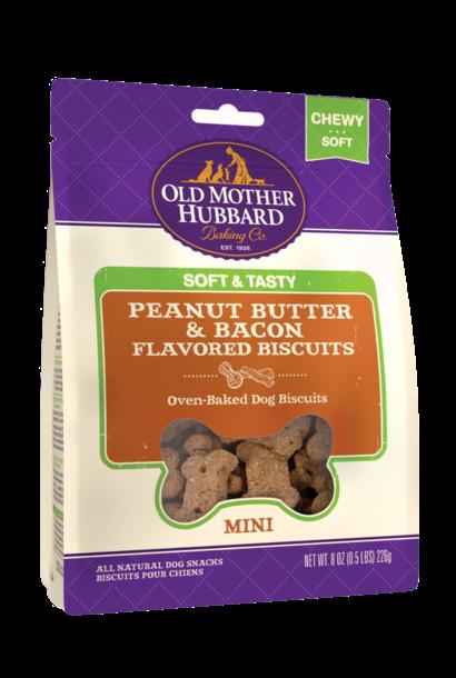 OMH Soft & Tasty Peanut Butter & Bacon 8oz
