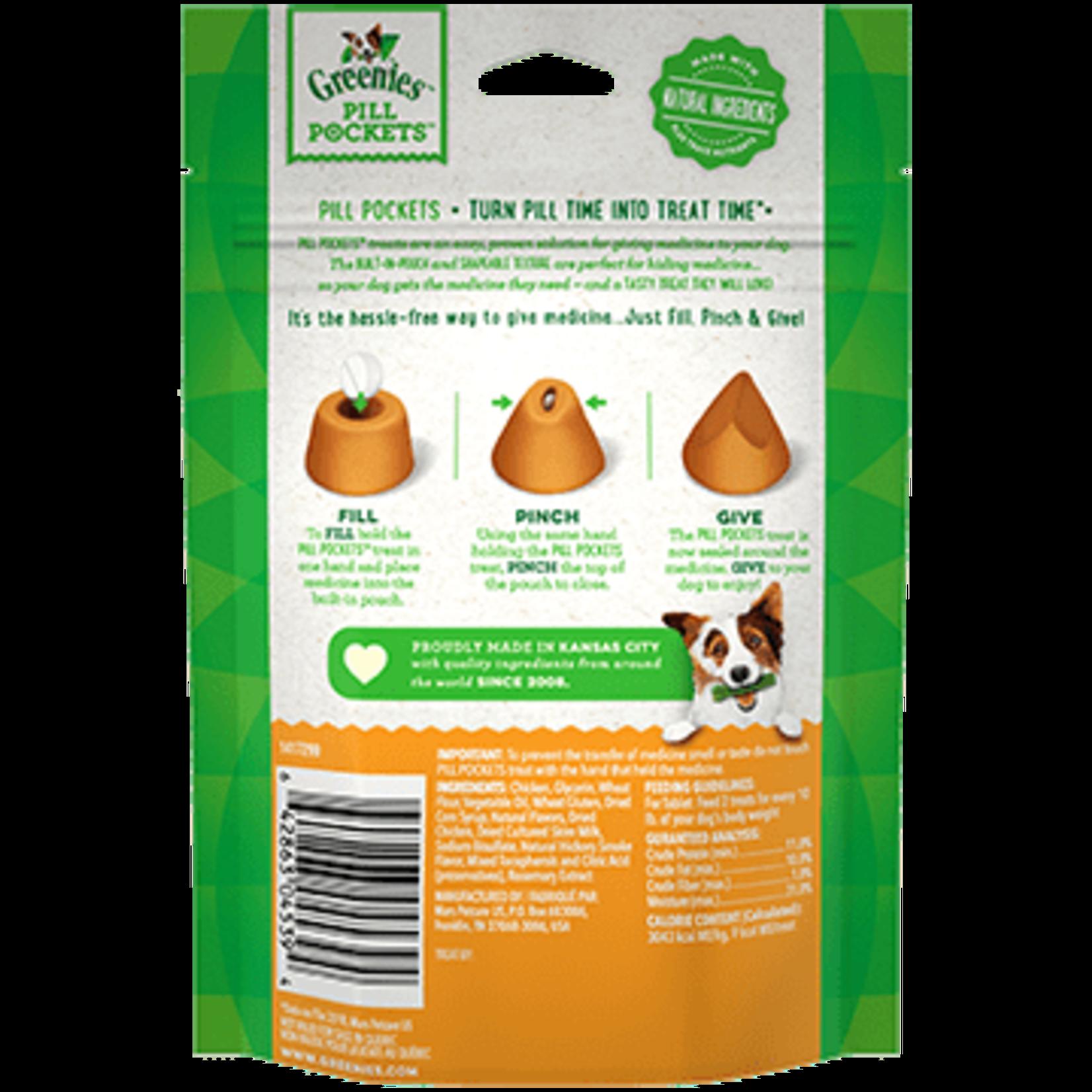 Greenies Greenies Pill Pockets Chicken Tabs 3.2OZ Tablets