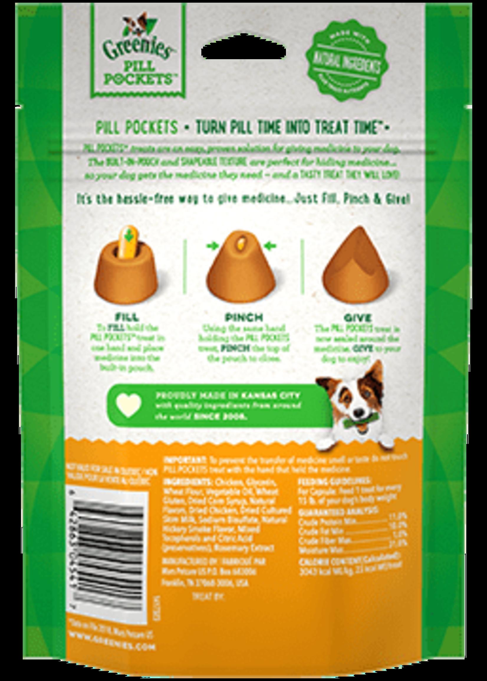 Greenies Greenies Pill Pockets Chicken 7.9OZ Capsule