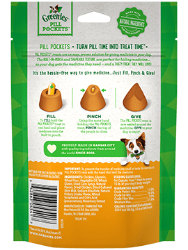 Greenies Pill Pockets Chicken 7.9OZ/ Capsule-2