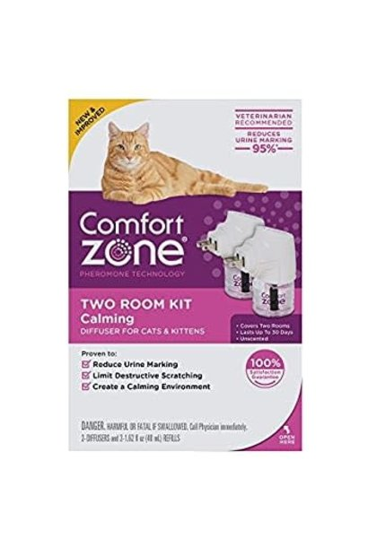 Comfort Zone Cat Calming Diffuser 48ml 2 pk