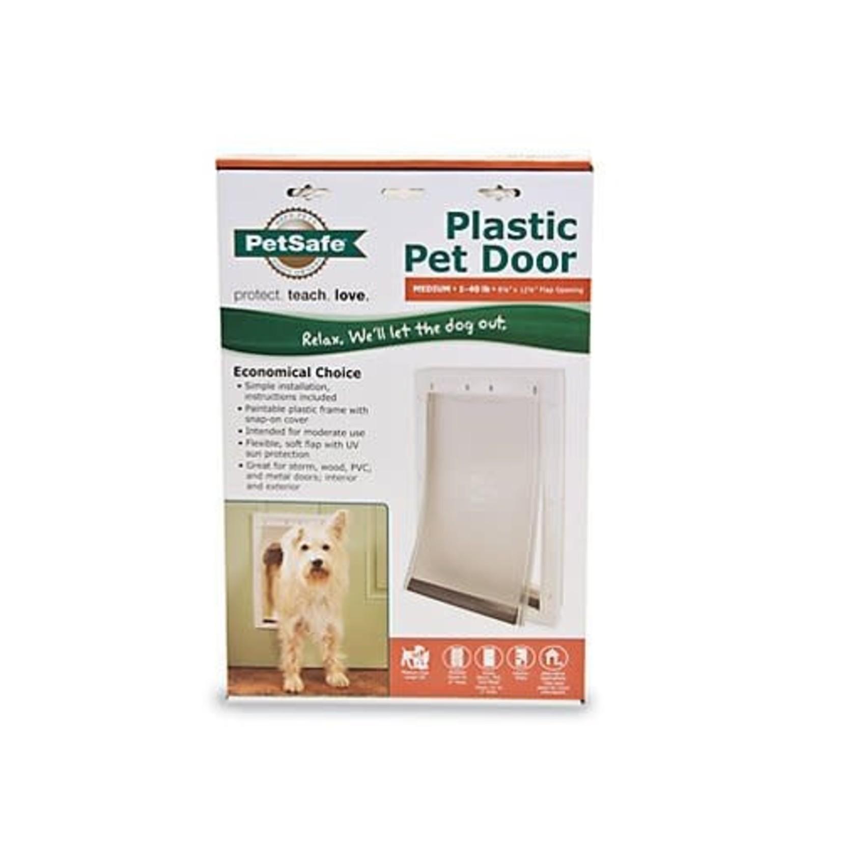 Pet Safe PetSafe Plastic Pet Door Medium