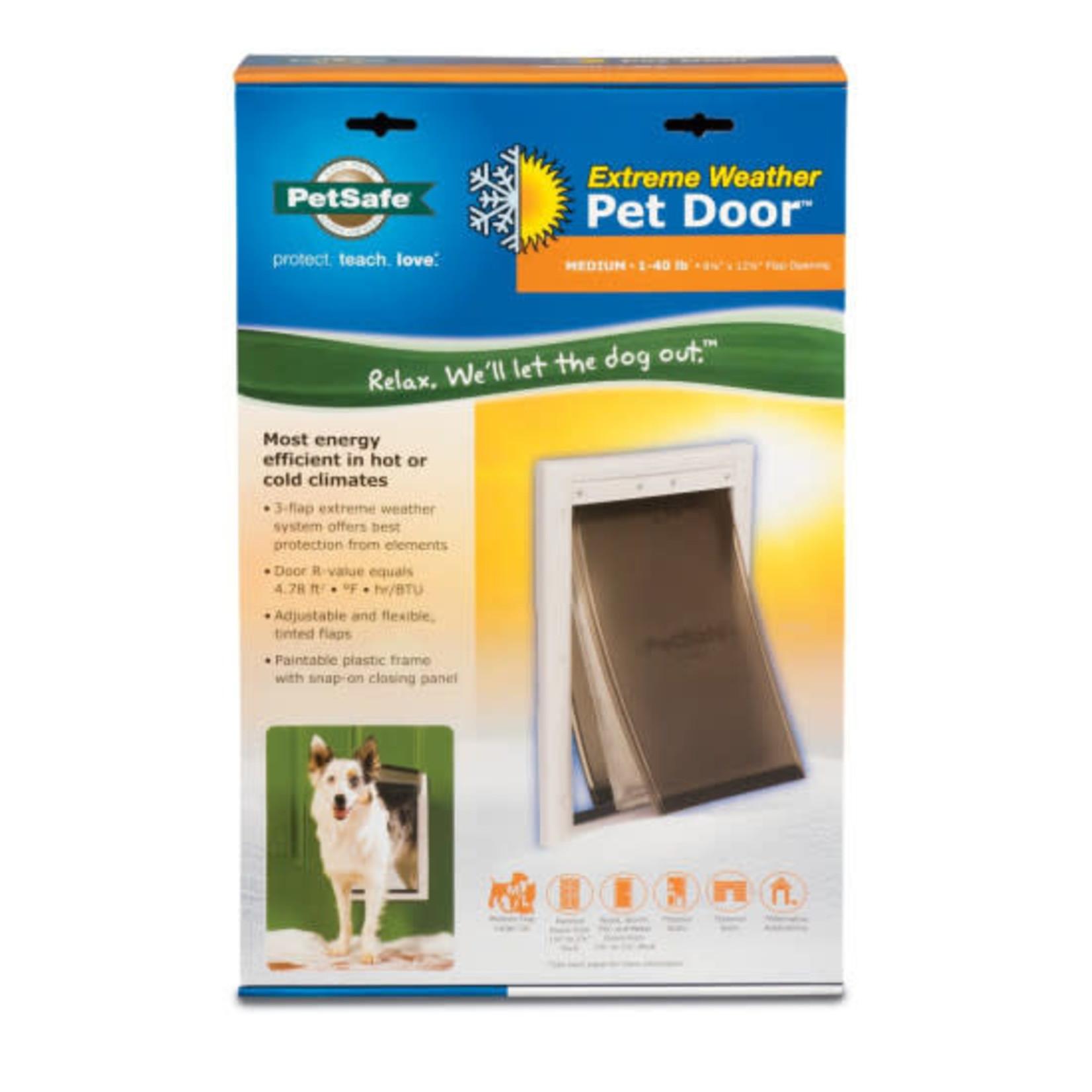 PetSafe  Extreme Weather Door 8 1/8'' x 12 1/4'' Flap Opening