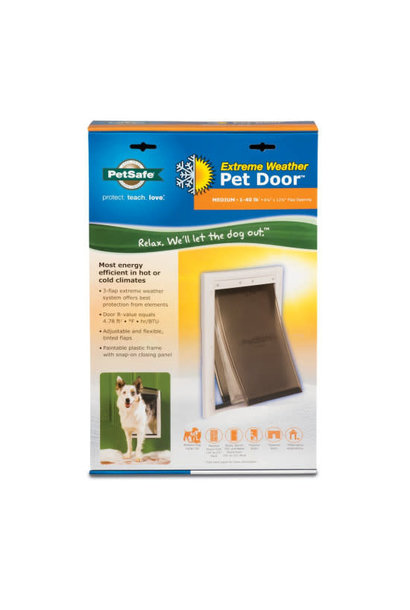 PetSafe  Extreme Weather Door 8 1/8'' x 12 1/4'' Flap Opening