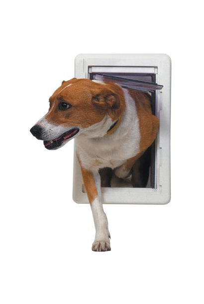 "Ideal Pet Door w/Insulated Frame- All Weather 7.25""x13"""